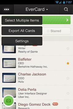 EverCard apk screenshot