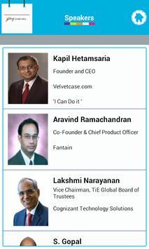 TiE Chennai Event manager apk screenshot
