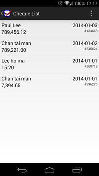 Cheque Writer apk screenshot