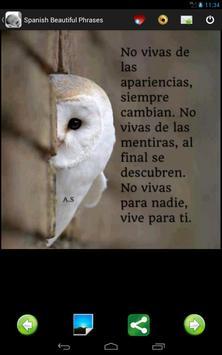Spanish Beautiful Quotes apk screenshot