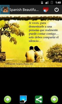 Spanish Beautiful Quotes 3 poster