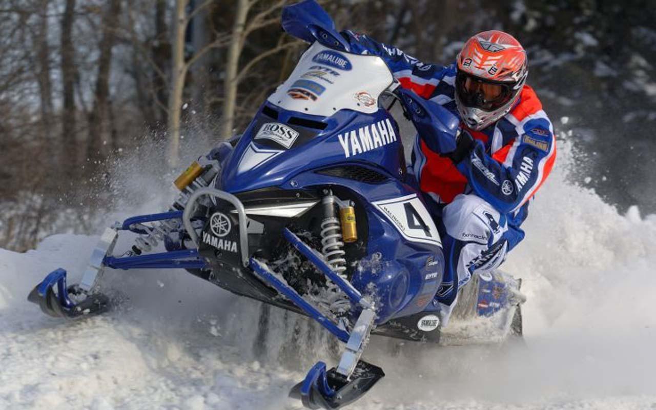 Snowmobile Racing Games 3d