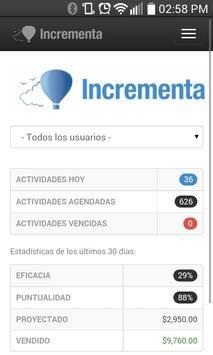 IncrementaCRM apk screenshot