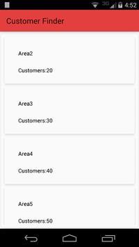 Customer Finder apk screenshot