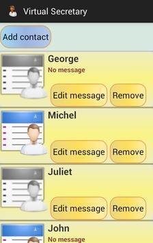 Virtual Secretary apk screenshot