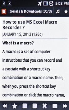 Learn MS Excel Tips & Tricks poster