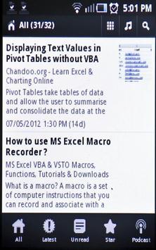 Learn MS Excel Tips & Tricks apk screenshot