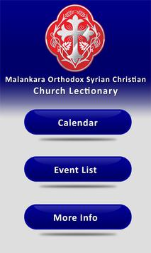 MOSC Lectionary poster