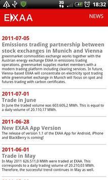 EXAA App apk screenshot