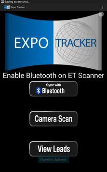 Expo Tracker Lead Retrieval poster