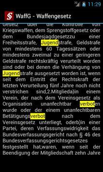 Strafrecht - Strafgesetze apk screenshot