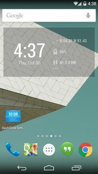 OilPrice DashClock Extension apk screenshot