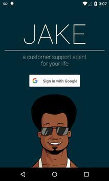 Jake - Get life help poster