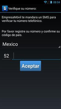 Empresa Movil apk screenshot