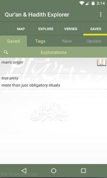 Quran & Hadith Explorer apk screenshot