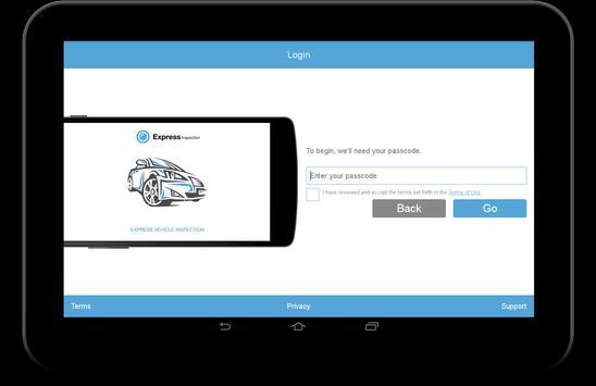 Express Vehicle Inspection apk screenshot
