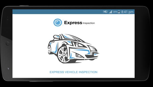 Express Vehicle Inspection poster