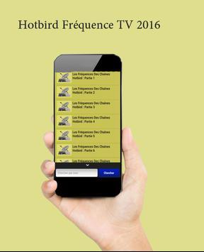 Hotbird Fréquence TV 2016 apk screenshot