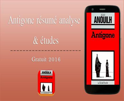 Antigone : resume et analyse poster