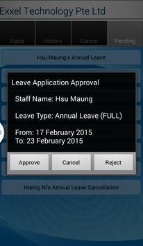 Finger Leave apk screenshot