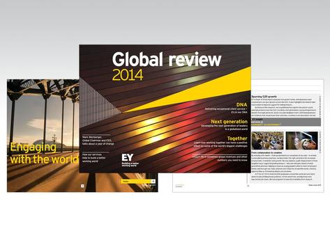 EY Global review poster