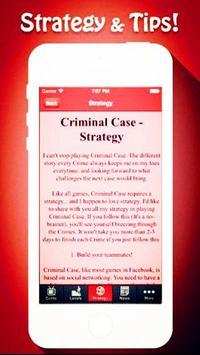 Top Tips For Criminal Case. poster