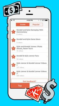 New Guide Kendall and Kylie. apk screenshot