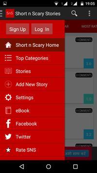 Short n Scary Stories apk screenshot