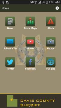Davis County Sheriff poster