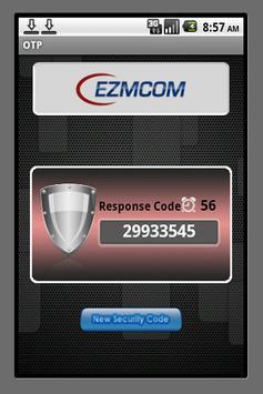 EZMCOMv4 Token apk screenshot