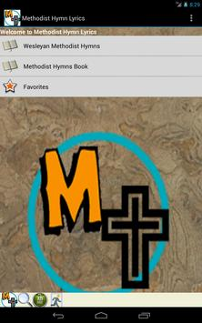 Methodist Hymn Lyrics apk screenshot