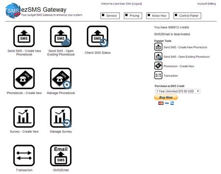 SMS Gateway poster