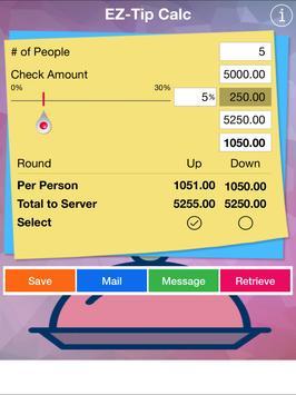 EZ-Tip Calculator apk screenshot