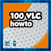 100 VLC howto icon