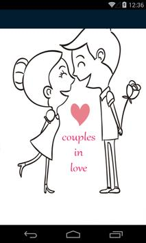 couples in love poster