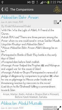 The Companions Lite (Sahaba) apk screenshot