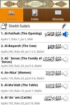 Al Quran (Al-Zikar Indonesian) poster