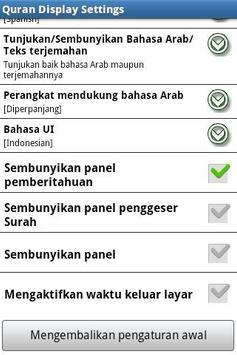 Al Quran (Al-Zikar Indonesian) apk screenshot