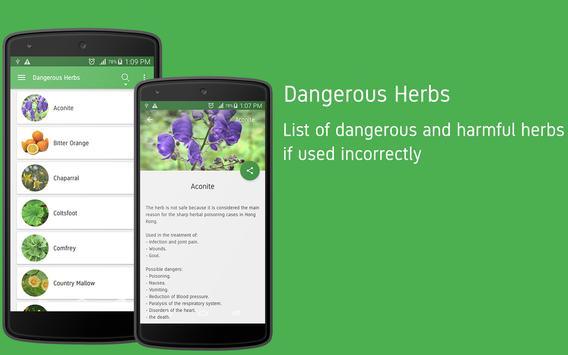 Herbs Encyclopedia apk screenshot