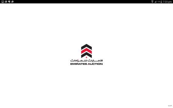 Emirates Auction apk screenshot