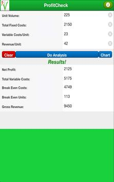 ProfitCheck apk screenshot