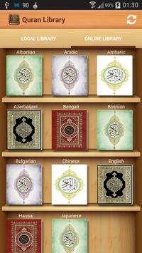 The Holy Quran Library poster