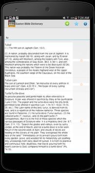 Easton Bible Dictionary FREE apk screenshot