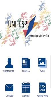 Unifesp em Movimento apk screenshot