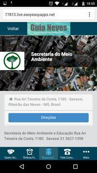 Guia Neves apk screenshot