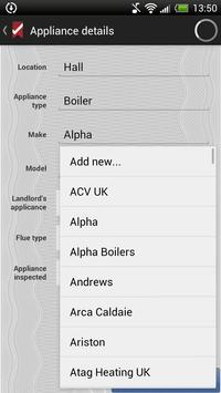 ESC Gas Certificate apk screenshot