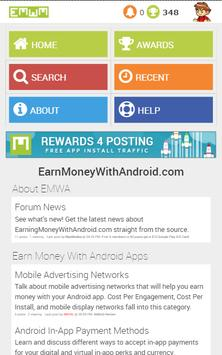 Earn Money With Android Forums poster