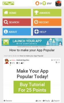 Earn Money With Android Forums apk screenshot