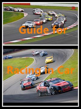 Tips:Racing in Car poster