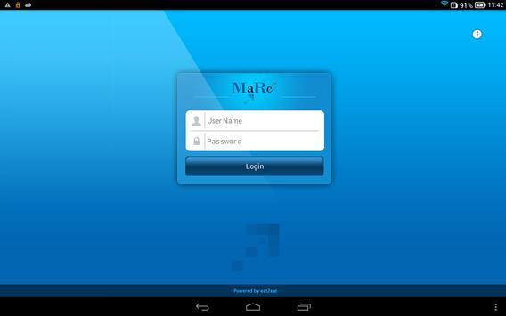 MaRc Enterprise apk screenshot